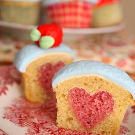valentine chiken1 13 مدل کیک و شیرینی ولنتاین