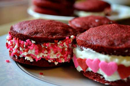 valentine chiken1 16 مدل کیک و شیرینی ولنتاین