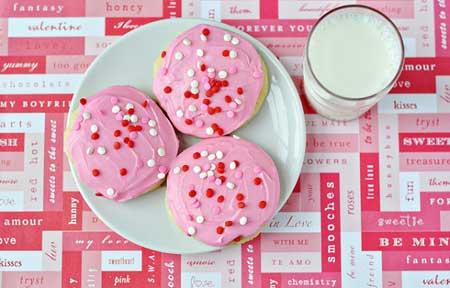 valentine chiken1 17 مدل کیک و شیرینی ولنتاین