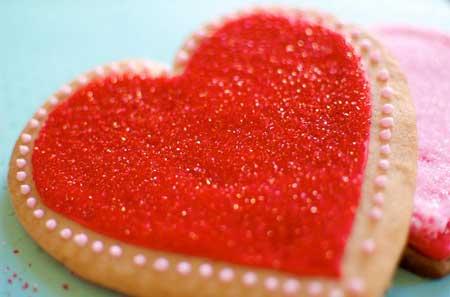 valentine chiken1 18 مدل کیک و شیرینی ولنتاین