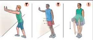 ورزش برای تقویت زانو,حرکاتی برای تقویت زانو,نرمش برای تقویت زانو