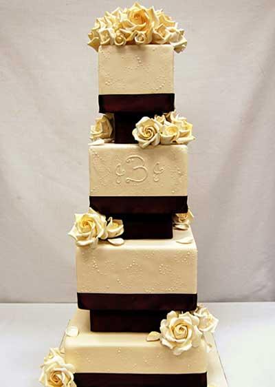 عکس کیک عروسی,شکل کیک عروسی