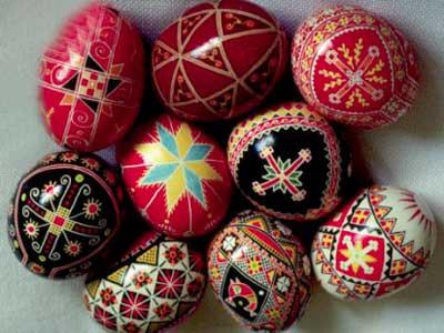 رنگ آمیزی نقاشی مخصوص سفره هفت سین تزئین سفره هفت سین با تخم مرغ