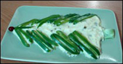تزئین سالاد الویه،تزیین سالاد،سالاد الویه،آشپزی و تغذیه