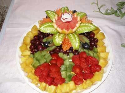تزیین میوه شب چله , تزیین میوه شب یلدا
