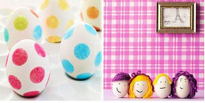 تزیین تخم مرغ،تخم مرغ سفره هفت سین،ایده تزیین تخم مرغ،سفره هفت سین،هنر در خانه