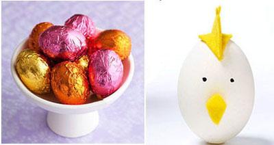 تخم مرغ هفت سین 96 , ایده تزیین تخم مرغ