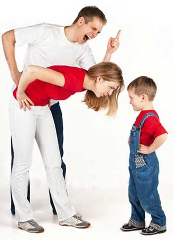 پدر و مادر خونسرد, نحوه برخورد صحیح با بچه ها,رفتار بچه ها