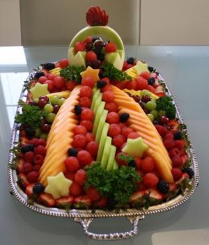 Fruit arrangment