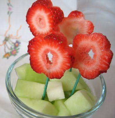 Strawberry Flowers - pretty!
