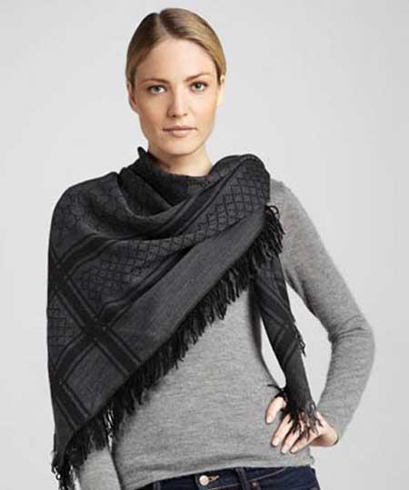 مدل شال پاییزه جدید,جدیدترین مدل روسری