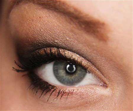 مدل آرایش چشم,آموزش آرایش چشمها,عکس آرایش چشم