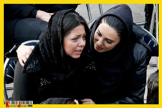 عکس: چهره ها در تشییع پیکر مرتضی پاشایی