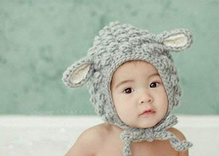مدل کلاه بافتنی, کلاه بچه گانه