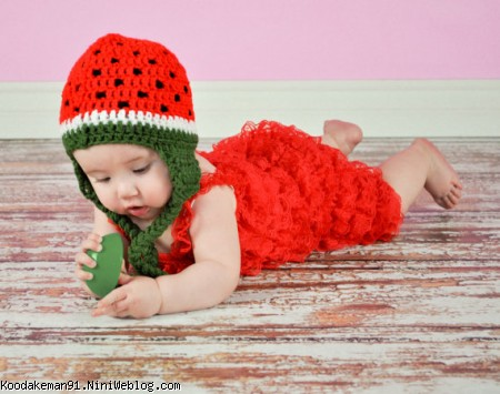 کلاه هندوانه ای, بافت کلاه هندوانه ای, اموزش بافتنی هندوانه, هندوانه بافتنی ,کلاه هندوانه, آموزش بافتنی, تزیین هندوانه شب یلدا ,تزیین شب یلدا ,آموزش قلاب بافی, هنر بافتنی, بافتنی ساده