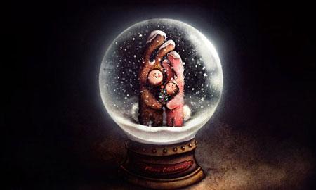 کارت کریسمس 2016,کارت تبریک کریسمس