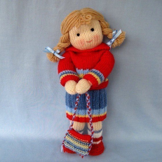 Knitted Doll (20)