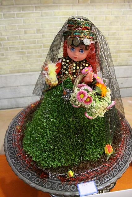 جشنواره سبزه های نوروزی در باغ غدیر