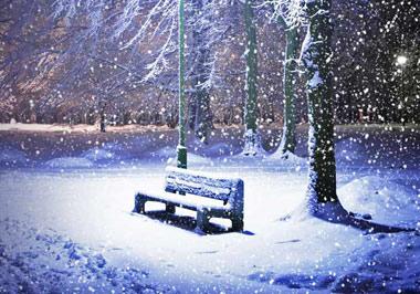 علت آرامش در زمان بارش برف,برف,بارش برف