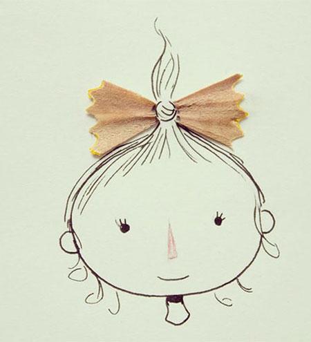 نقاشی های ترکیبی و طنز, نقاشی با اشیا