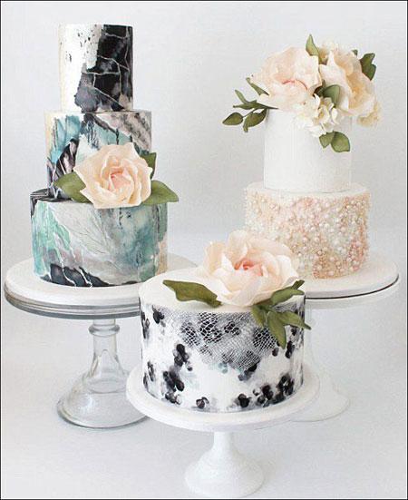 جدیدترین کیک های عروسی,کیک عروسی 2016