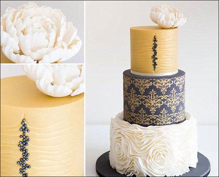 جدیدترین کیک های عروسی, کیک عروسی 2016