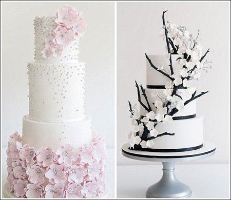 کیک های عروسی 2016,کیک های عروسی جالب