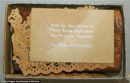اخبار,اخبارگوناگون , کیک عروسی ملکه  الیزابت