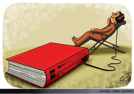 کاریکاتور کتابخانه, کاریکاتورهای جدید