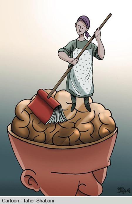 کاریکاتور کتاب, تصاویر طنز