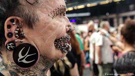 عکسهای غریب از مردان عجیب