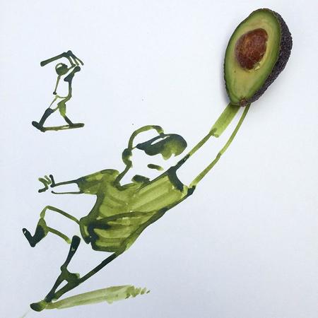 نقاشی های ترکیبی و طنز, عکس های خنده دار