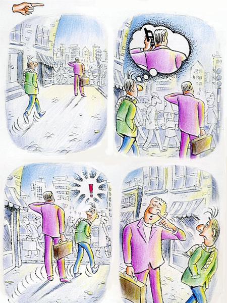 کاریکاتور جدید, کاریکاتورهای جواد علیزاده