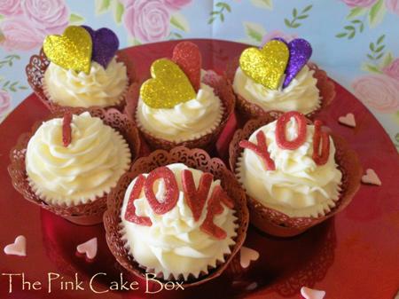 کاپ کیک روز ولنتاین, کاپ کیک ولنتاین
