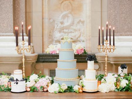 کیک عروسی به رنگ سال ۲۰۱۶, مدل کیک عروسی