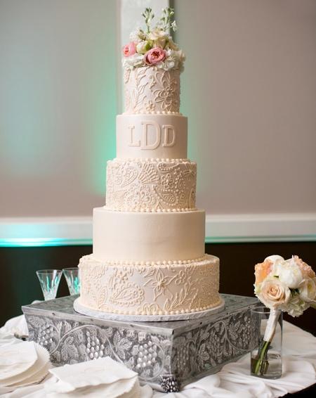 کیک عروسی به رنگ آبی, کیک عروسی رنگ سال 2016