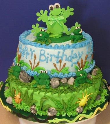 کیک تولد,تهیه کیک تولد,پخت کیک تولد,عکس کیک تولد