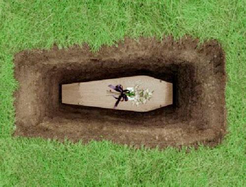 مراسم خاکسپاری, آئین های مراسم خاکسپاری,تابوت