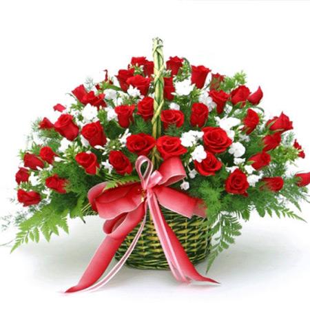 سبد گل,عکس سبد گل,سبد گل تبریک عید