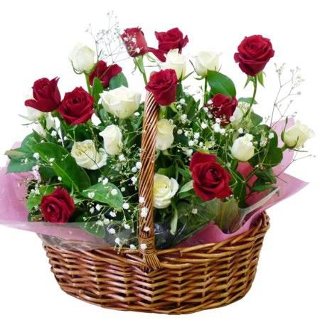 سبد گل,سبد گل تبریک عید,عکس سبد گل